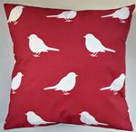 Cushion Cover in Laura Ashley Red Robin
